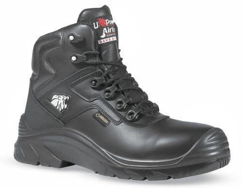 U-Power Drop Gore-Tex Metal Free Black Leather Safety Toecap Boots